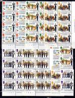 1983  ++  100 Ans  « Boys Brigade », 10 X  262 / 268**  , Cote 45 €  Vendu 40% Sous Prix Poste - Guernsey
