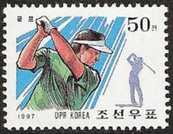 North Korea (Democratic Peoples Republic) SC#3678 1997 Sports Golf MNH - Golf
