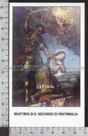 Xsa-10661 MARTIRIO DI S. San SECONDO DI VENTIMIGLIA SOLDATO MARTIRE LEGIONE TEBEA Santino Holy Card - Religion & Esotericism