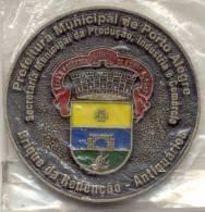 PREFEITURA MUNICIPAL DO PORTO ALEGRE BRIQUE DA REDENCAO ANTIQUARIOS - 30 AÑOS - 1978-2008 - Tokens & Medals