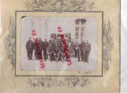 MAROC - ORAN - MASCARA - TRES RARE PHOTOGRAPHIE DU 18 E ESCADRON DU TRAIN -12E COMPAGNIE - MAI 1903-MILITARIA - Guerre, Militaire