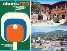 EX YU. Bosnia & Herzegovina.Sarajevo.STENS/'73. - Tennis De Table