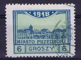 Poland/Polen: Przedborz Mi  5 B , Cancelled, Perfo 11,50