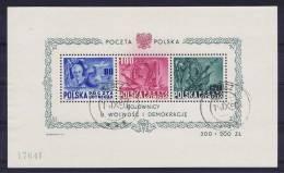 Poland/Polen: 1948 Block 11, Cancelled, Mi Cat Value 600 Euro - 1944-.... Republic