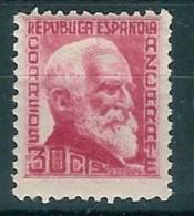 España 0686 ** Personajes. Azcarate. 1933. - 1931-50 Nuevos & Fijasellos