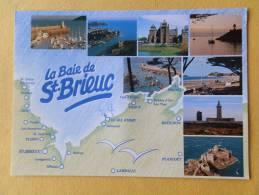 Dep 22 , Cpm  La BAIE DE St BRIEUC , 12000 , TY ( Cp Géographique, Multi Vues)(17.36) - Ohne Zuordnung
