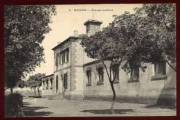 Cpa  D´ Algérie   Bouira  Groupe Scolaire    EUG19 - Autres Villes