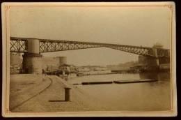 Photographie (2) Originale Albuminée Circa 1880  Du  29 Brest  Photographe Emile Mage 107 Rue De Siam Brest   EUG19 - Lieux