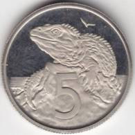 @Y@   Nieuw Zeeland 5 Ct 1975 Proof      (C631) - Nouvelle-Zélande