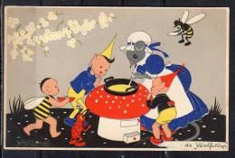 Willy Schermelé Elfenmaaltijd12.VIII.1941(c13) - Children's Drawings