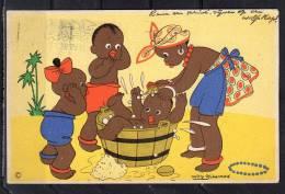 Willy Schermelé Dat Valt Niet Mee 27.VII.1945(c15) - Children's Drawings