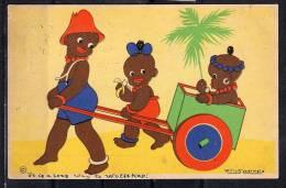 Willy Schermelé Een Fijn Ritje 13.VII 1944 Oorlogskaart!! (c16) - Children's Drawings