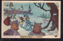 Marten Toonder Tom Poes Kaart Serie 8, Nr. 45  23 Mei 1945 (C22) - Children's Drawings