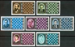 1986 Mongolia Campionato Mondiale Di Scacchi World Championship Of Chess Echess Set MNH** B16 - Scacchi