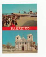 Portugal Cor 20231 - BARREIRO - BARCO PARA LISBOA IGREJA - Setúbal