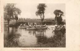 Constuction D'un Pont De Bateaux Sur La Meuse Edit. Commercy - Manoeuvres