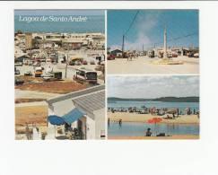 Portugal Cor 20269 - SANTIAGO DO CACÉM - LAGOA DE SANTO ANDRÉ - OLD CARS AUTOMOBILES VOITURES BUS - Setúbal