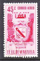 Venezuela  C 398    (o)  ARMS Of  MIRANDA - Venezuela