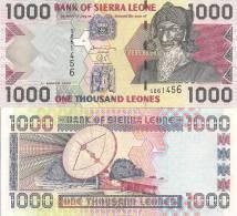 Sierra Leone P-24b, 1000 Leones,  Bai Burah / Satellite Dish Antennae $5CV! - Sierra Leone