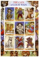 CONGO SHEET IMPERF LOUIS WAIN CATS - Katten