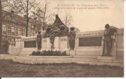 TOURNAI: Le Monument Aux Héros Militaires Et Civils De La Grande Guerre 1914-1918 - Tournai