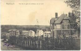 MEMBACH (4837) Vue De La Gare Et Chateau De La Foret - Baelen