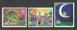 """INDIA, 2008, National Children´s Day, """"India Of My Dreams"""", Set 3 V, MNH, (**) - Nuovi"""