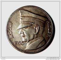 Replica Germania Adolf Hitler WWII Medal Eagle Token - Germany