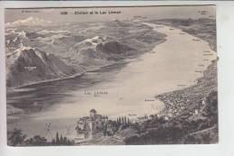 CH 1820 MONTREUX - CHILLON, Schloß & Lac Leman - VD Vaud