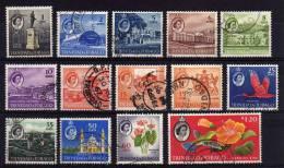 Trinidad & Tobago - 1960/64 - Definitives (Part Set) - Used - Trinidad & Tobago (...-1961)
