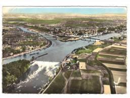 CONFLANS-Ste-HONORINE Le Confluent De L'Oise Et De La Seine Le Barrage - Conflans Saint Honorine