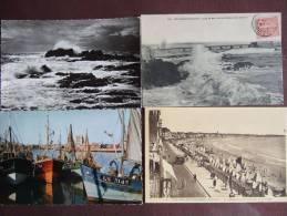 SABLES D'OLONNE  N°1 / JOLI LOT DE 26 CARTES / TOUTES LES PHOTOS - Sables D'Olonne