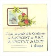 Calendrier 1941 - Vendu Au Profit De La Conférence De St-Vincent De Paul De L'Institut St-Louis (b110) - Calendriers