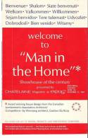"""Welcome To """"Man In The Home"""" Showhouse Of The Century Presented By Chatelaine Magazine At EXPO67, Montreal, Quebec - Programs"""