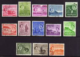 Mauritius - 1953/1954 - Definitives (Part Set) - Used - Maurice (...-1967)