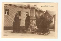 CPA -Belgique : Sart Les Spa : Monument Des Combattants - Jalhay