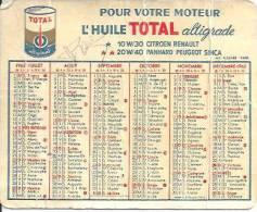 1962. HUILE TOTAL ALTIGRADE - Petit Format : 1961-70