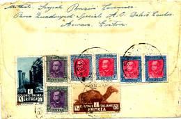 ASMARA / ERITREA - 28 2 39 , Brief Nach Zürich - Eritrea
