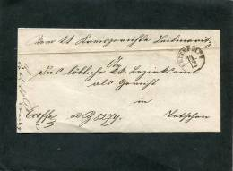 Deutschland Brief 1856 Leitmeritz - ...-1849 Vorphilatelie