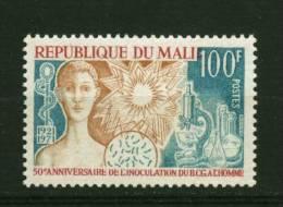 Rep. Mali** N° 154 - 50e Ann. De L´inoculation Du BCG à L´homme - Mali (1959-...)
