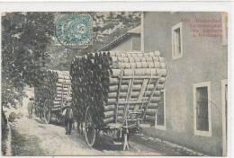 ROQUEFORT - Le Transport Des Paniers De Fromage - Roquefort