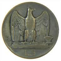 5 LIRE  ITALIA 1926 ARGENTO SILVER AQUILOTTO - 1861-1946 : Regno