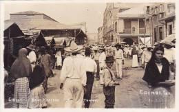 CPA MEXIQUE TAMPICO Calle Bajo Mercado - Mexique