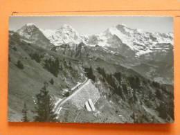 E1-Suisse--schynige Platte--jungfrau-munch Eiger--train-- - Sin Clasificación