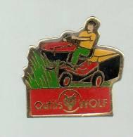 PINS PIN'S CAMION CAMIONNETTE VAN TRANSPORT TONDEUSE A GAZON OUTILS WOLF MOTOCULTURE - Transports