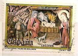 Spain Edifil # 2776 (o) Navidad Christmas 1984, Natividad, Museo Diocesano Palma De Mallorca - 1931-Hoy: 2ª República - ... Juan Carlos I