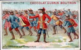 CHROMOS CHOCOLAT GUERN BOUTRON - N°48 EPISODE DES GRANS CAPITAINES - CATINAT - Guérin-Boutron