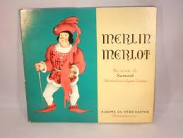 """Livre D'Enfant. Illustrateur Samivel. """"Merlin Merlot""""un Conte De Samivel. - Libros, Revistas, Cómics"""