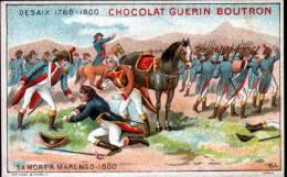 CHROMOS CHOCOLAT GUERN BOUTRON - N°66 EPISODE DES GRANS CAPITAINES - DESAIX - Guérin-Boutron