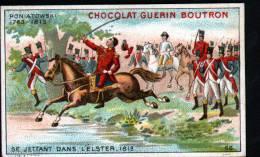 CHROMOS CHOCOLAT GUERN BOUTRON - N°66 EPISODE DES GRANS CAPITAINES - PONIATOWSKI - Guérin-Boutron